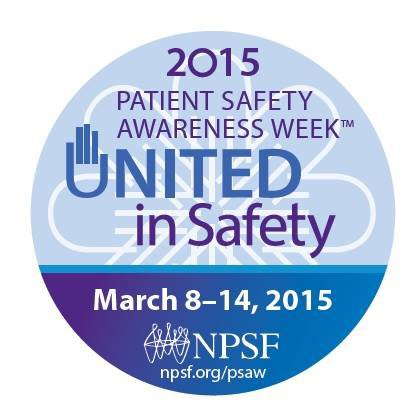 National Patient Safety Week 2015