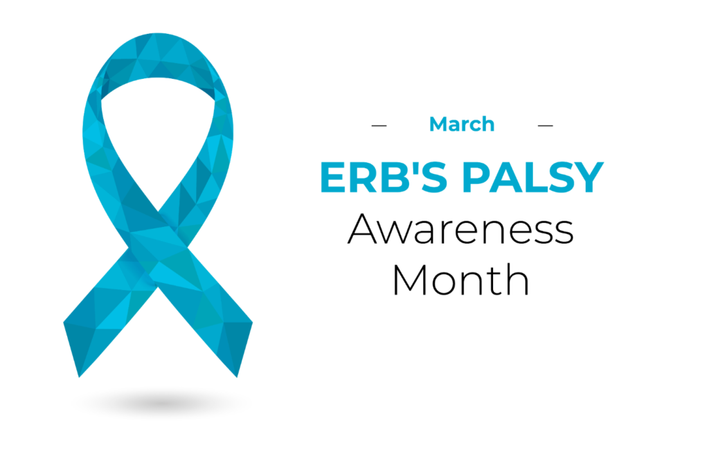 March is Erb's Palsy Awareness Month.