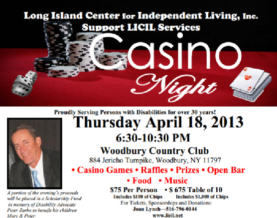 LICIL Casino Night