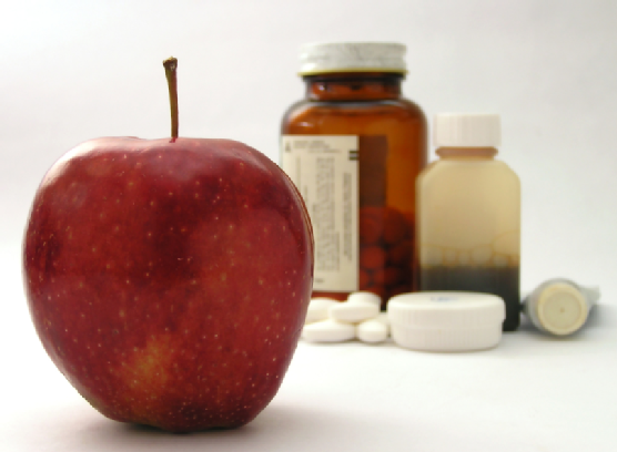 apple and medicine