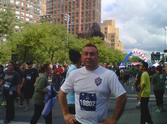 Giancarlo Tunnel to Towers Run Sept 2013